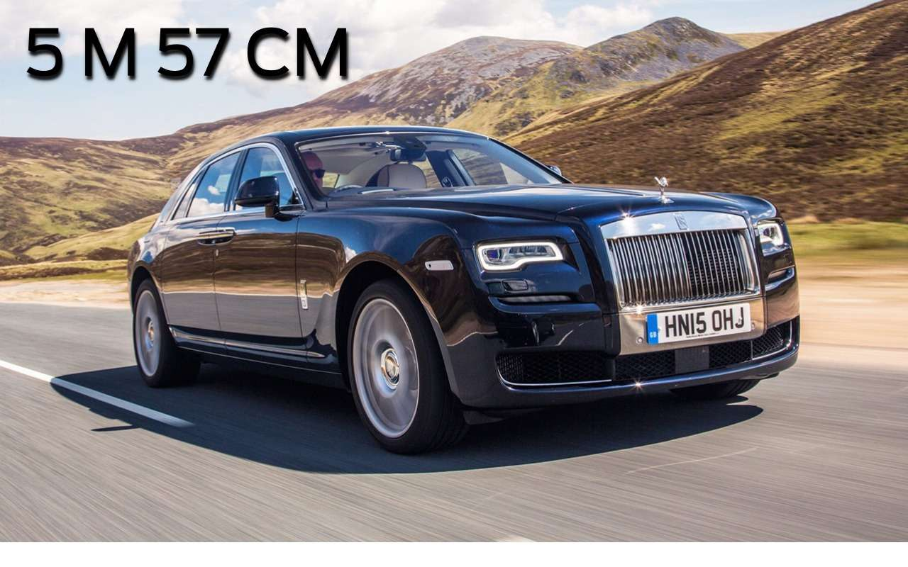 Гулливеры: самые длинные автомобили XXI века— фото 814139