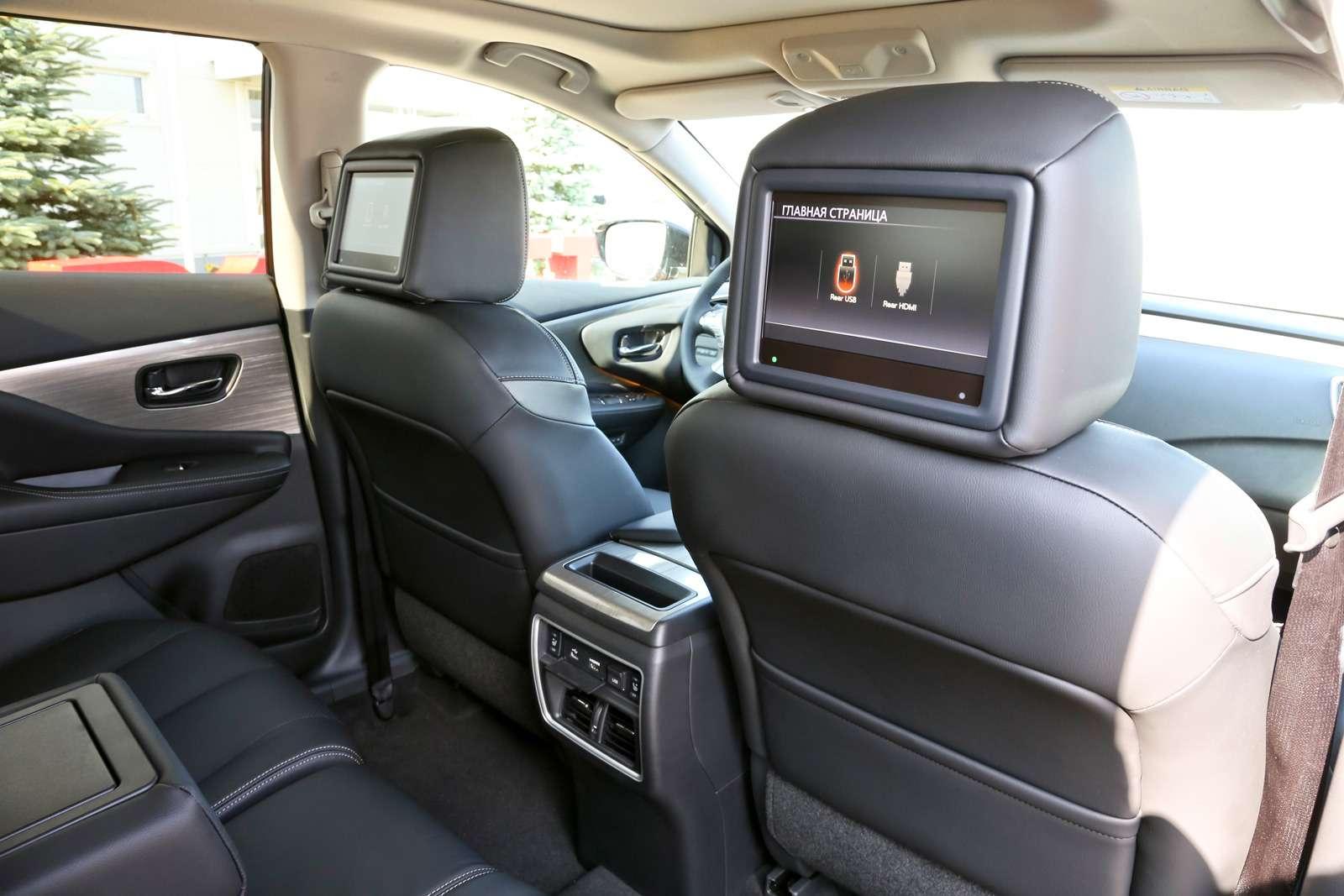 Новый Nissan Murano: мыпоездили нанем первыми!— фото 614159
