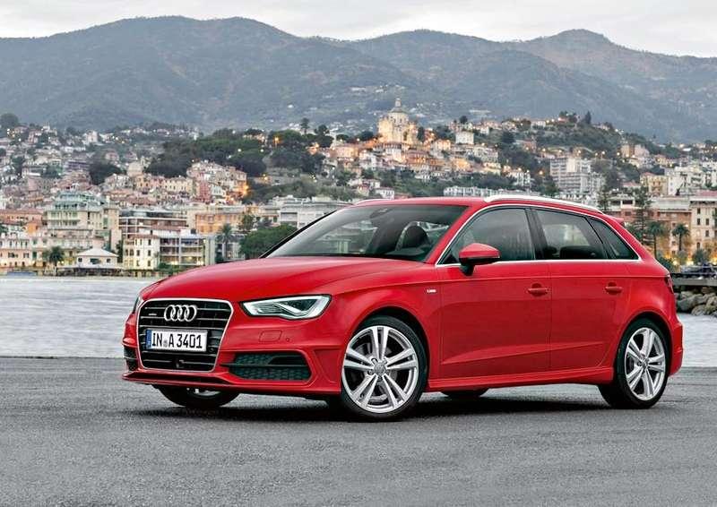 Audi A3Sportback Sline/Standaufnahme