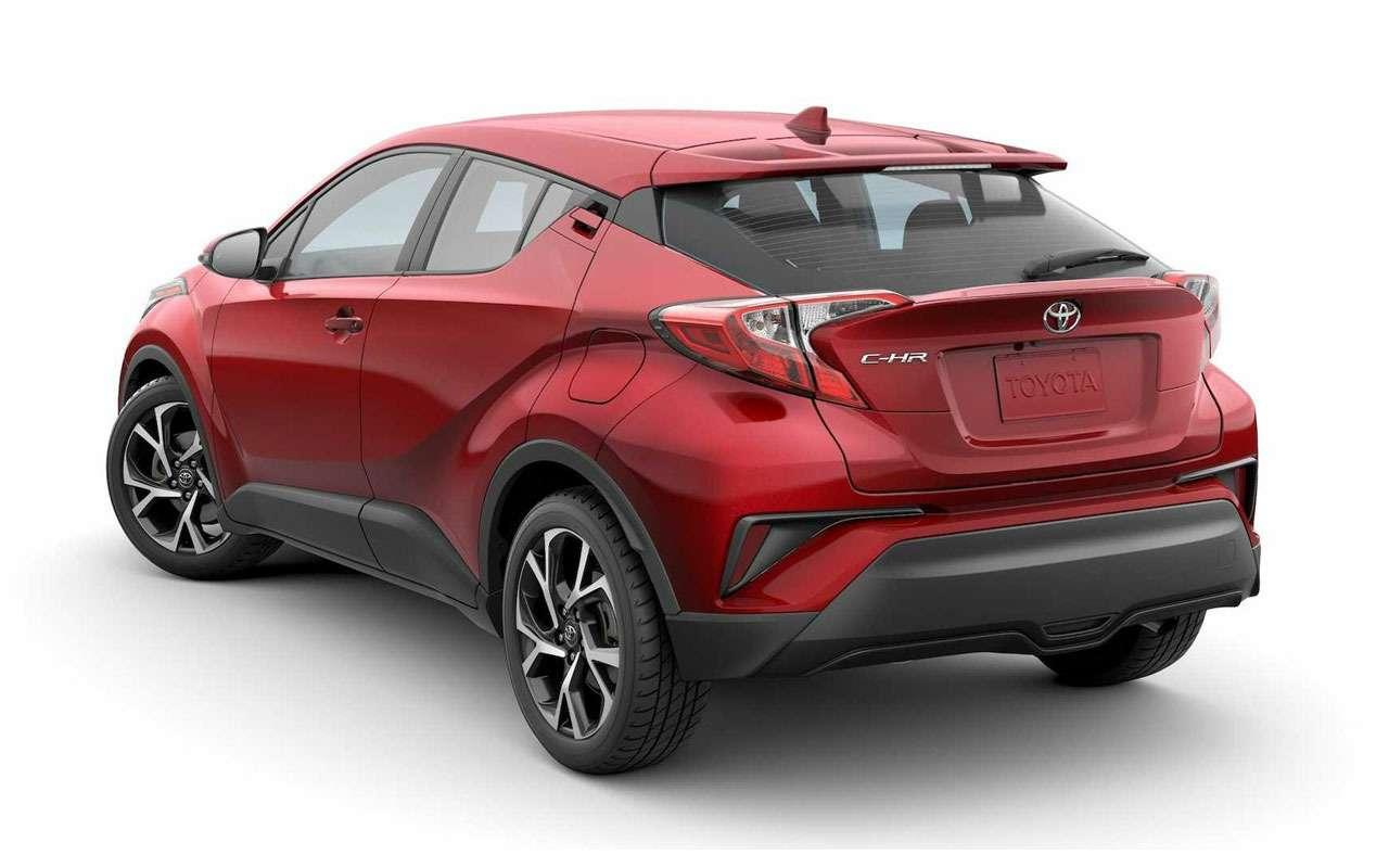 Обновленная Toyota C-HR скоро поступит впродажу— фото 1000080