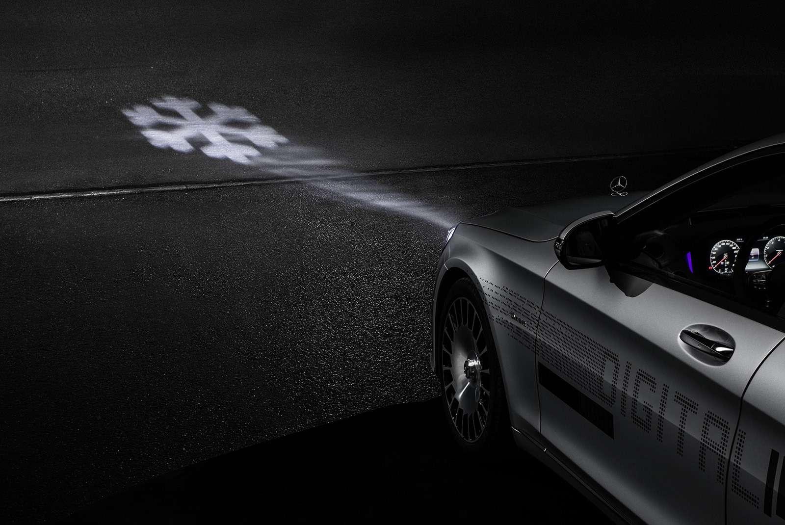 «Ярисую наасфальте»: Mercedes-Maybach представил уникальные фары— фото 851496
