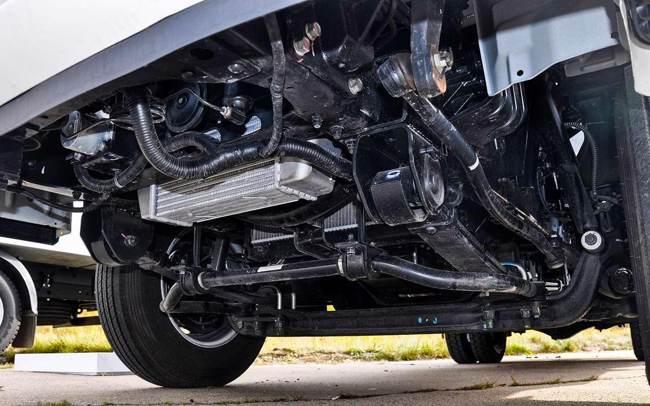 Грузовики Hyundai российской сборки: тест запятый класс— фото 933419