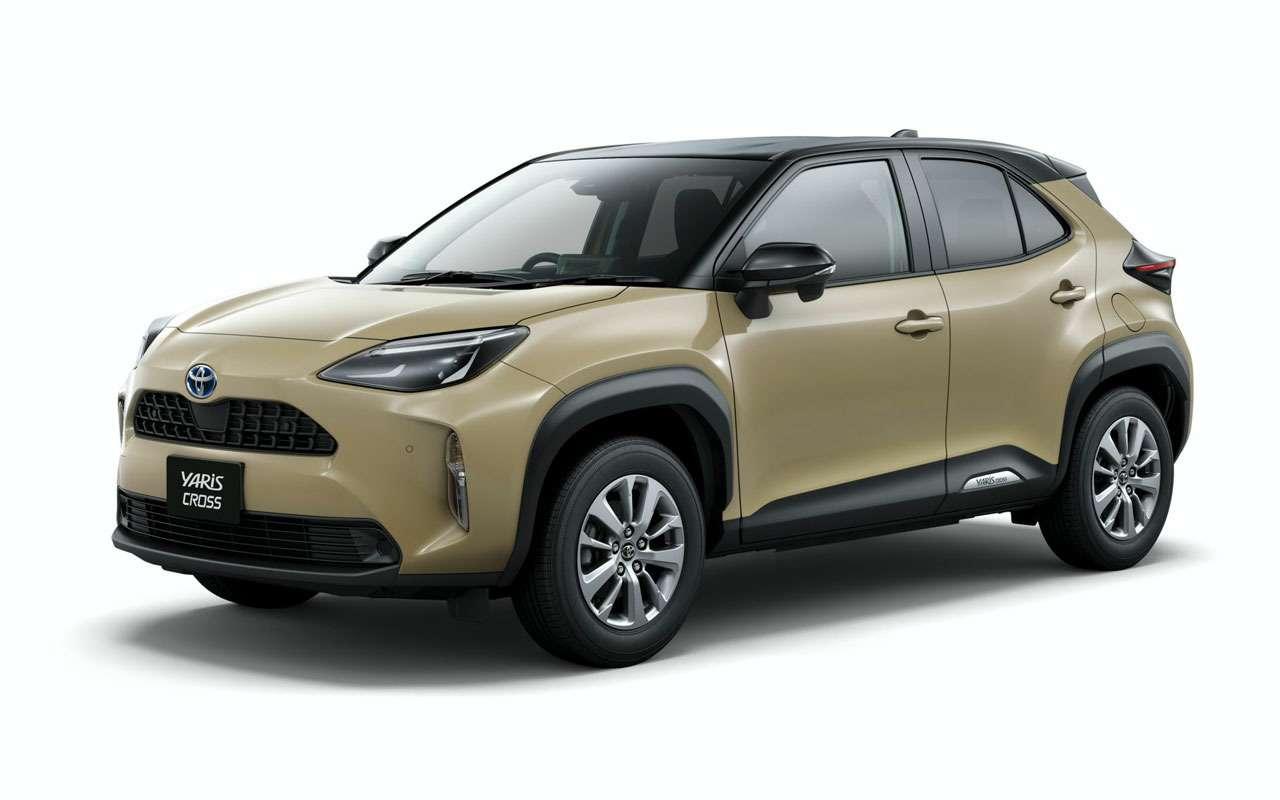 Начались продажи Toyota Yaris Cross - от 1,27 млн - фото 1163703