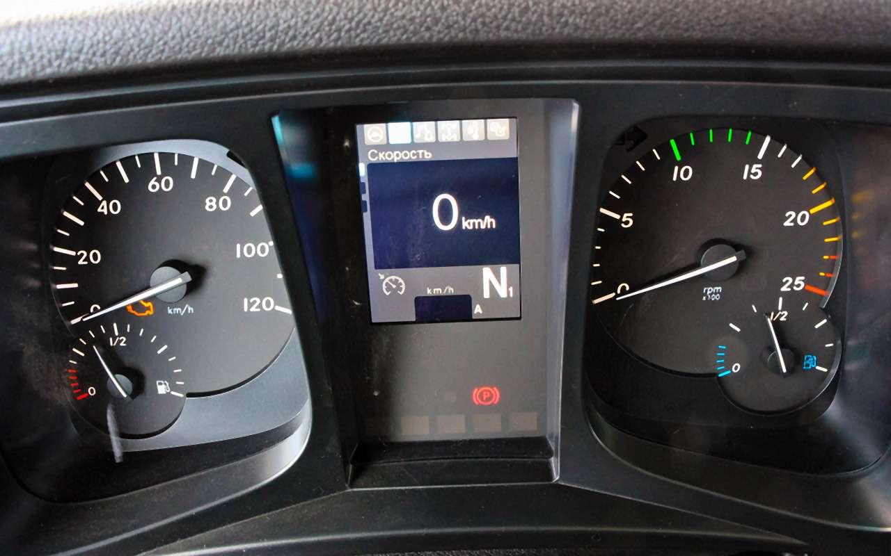 Mercedes-Benz Actros иArocs MP4: комплектация дляРоссии— фото 931096