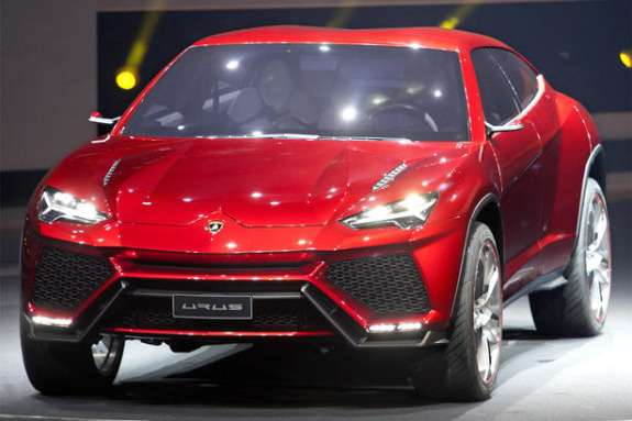 Lamborghini Urus Concept side-front view