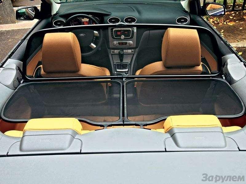 Наше знакомство Ford Focus Coupe-Cabriolet: Кабрио-балет— фото 91280