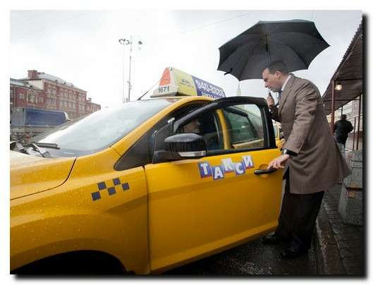 Подмосковье выбрало цвет длялегальных такси