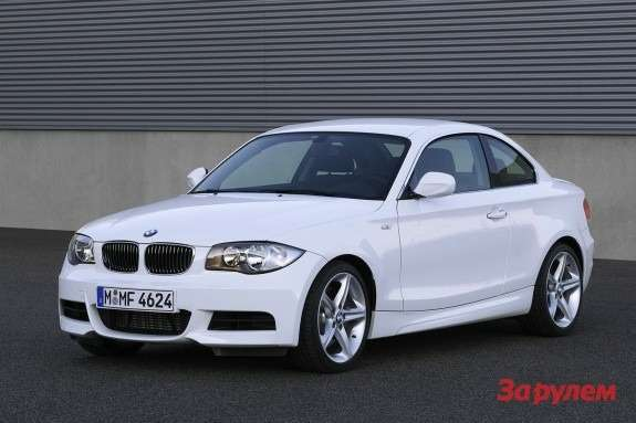 BMW135i Coupe front view