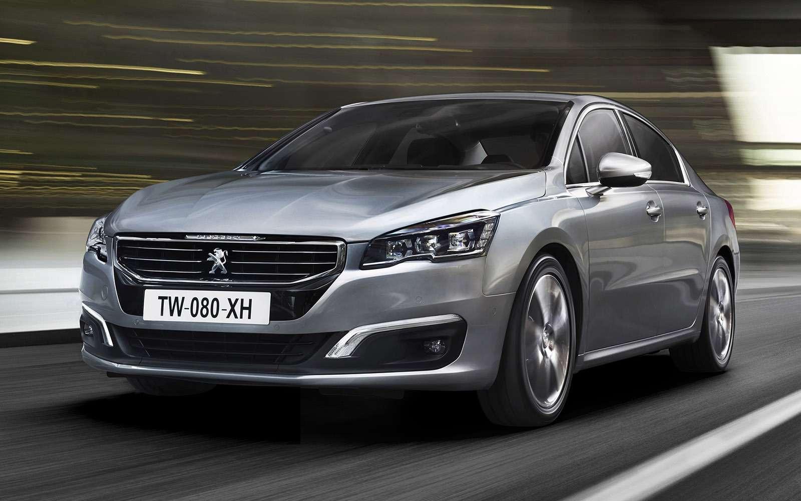 Peugeot 508. Цены: 1819000— 1999000 рублей.