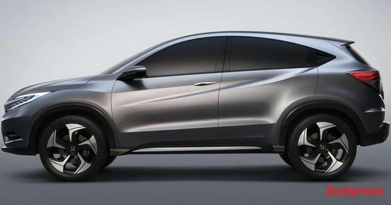 Honda Urban SUV Concept side view
