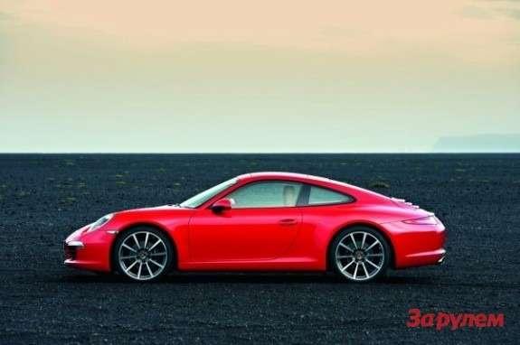 Porsche 911991 side view