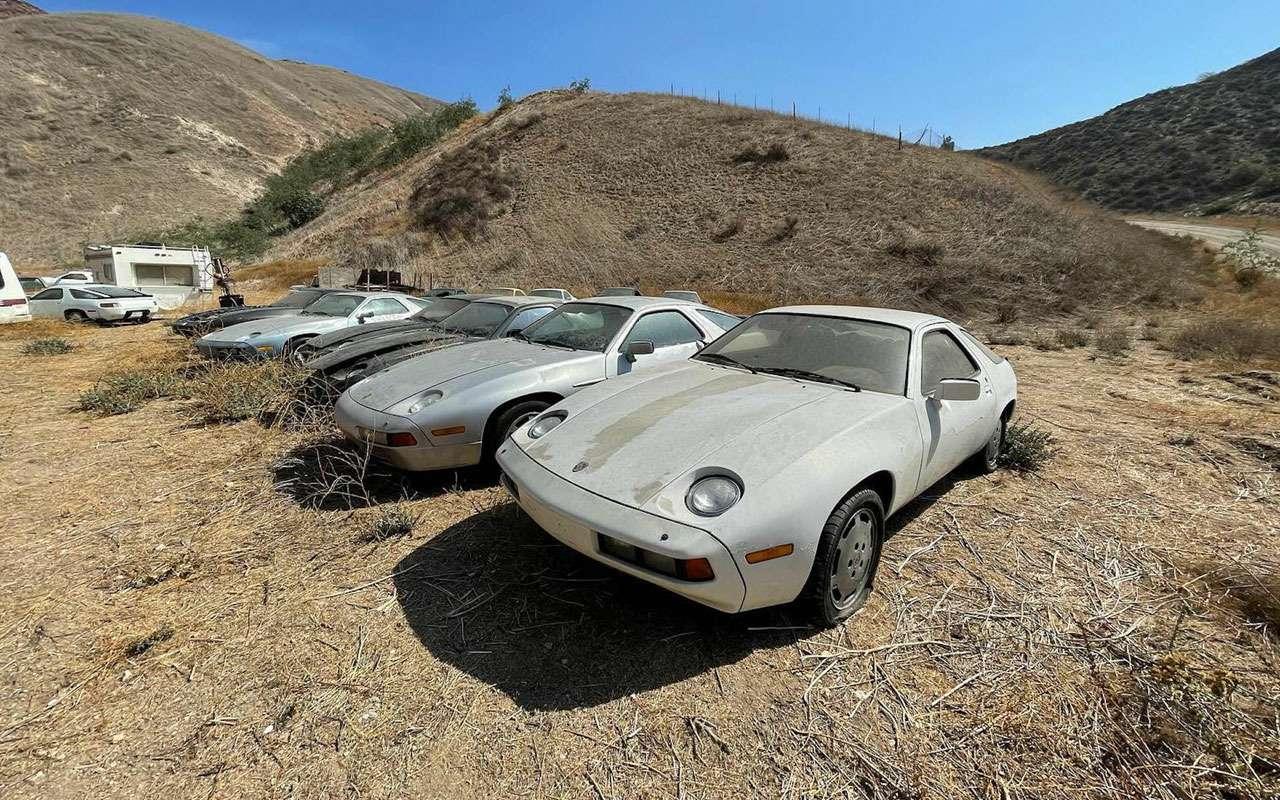 Найдено кладбище раритетных Porsche— фото 1283098