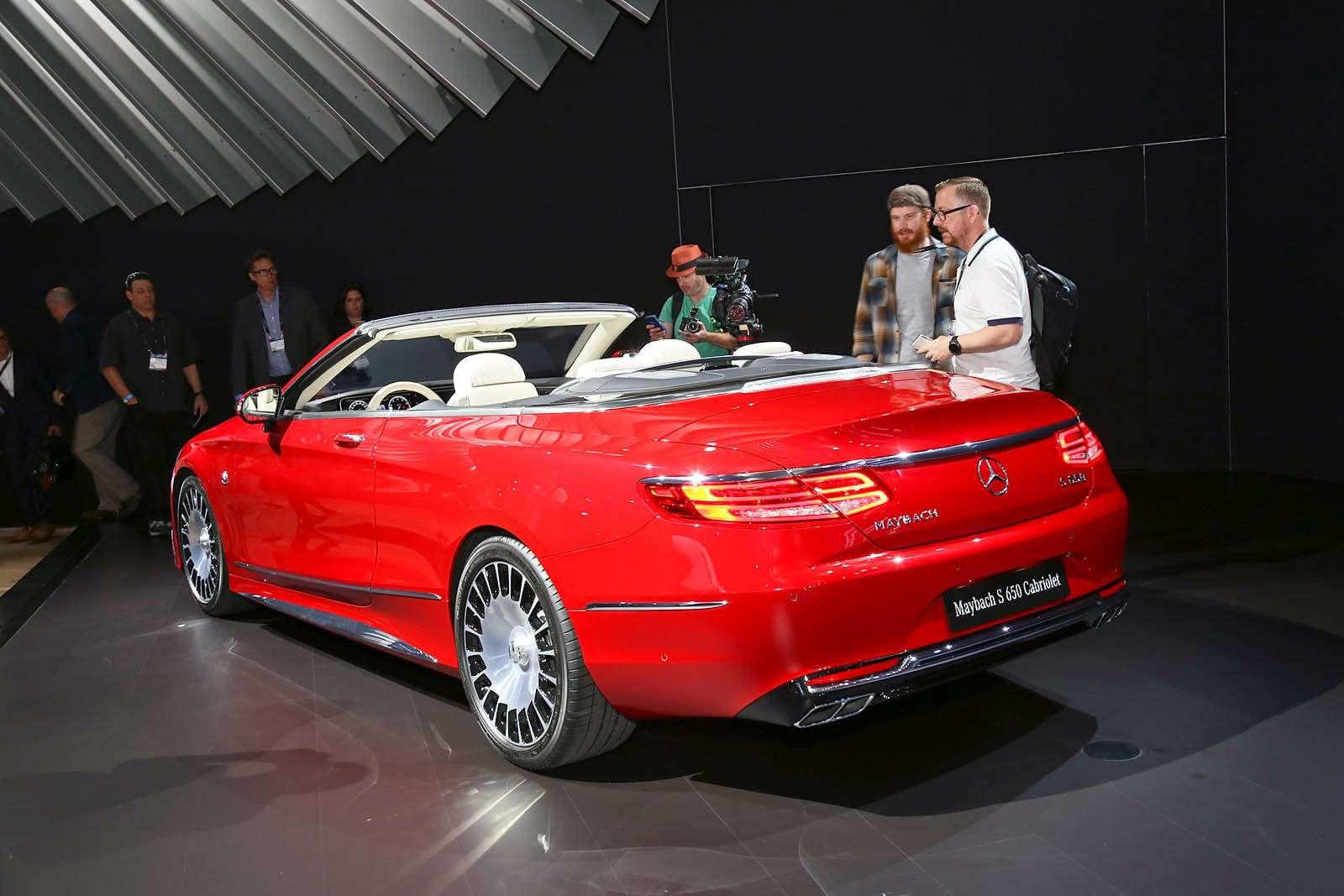 Царская особа: Mercedes-Maybach S650 Cabriolet раскрывает тайны— фото 665267