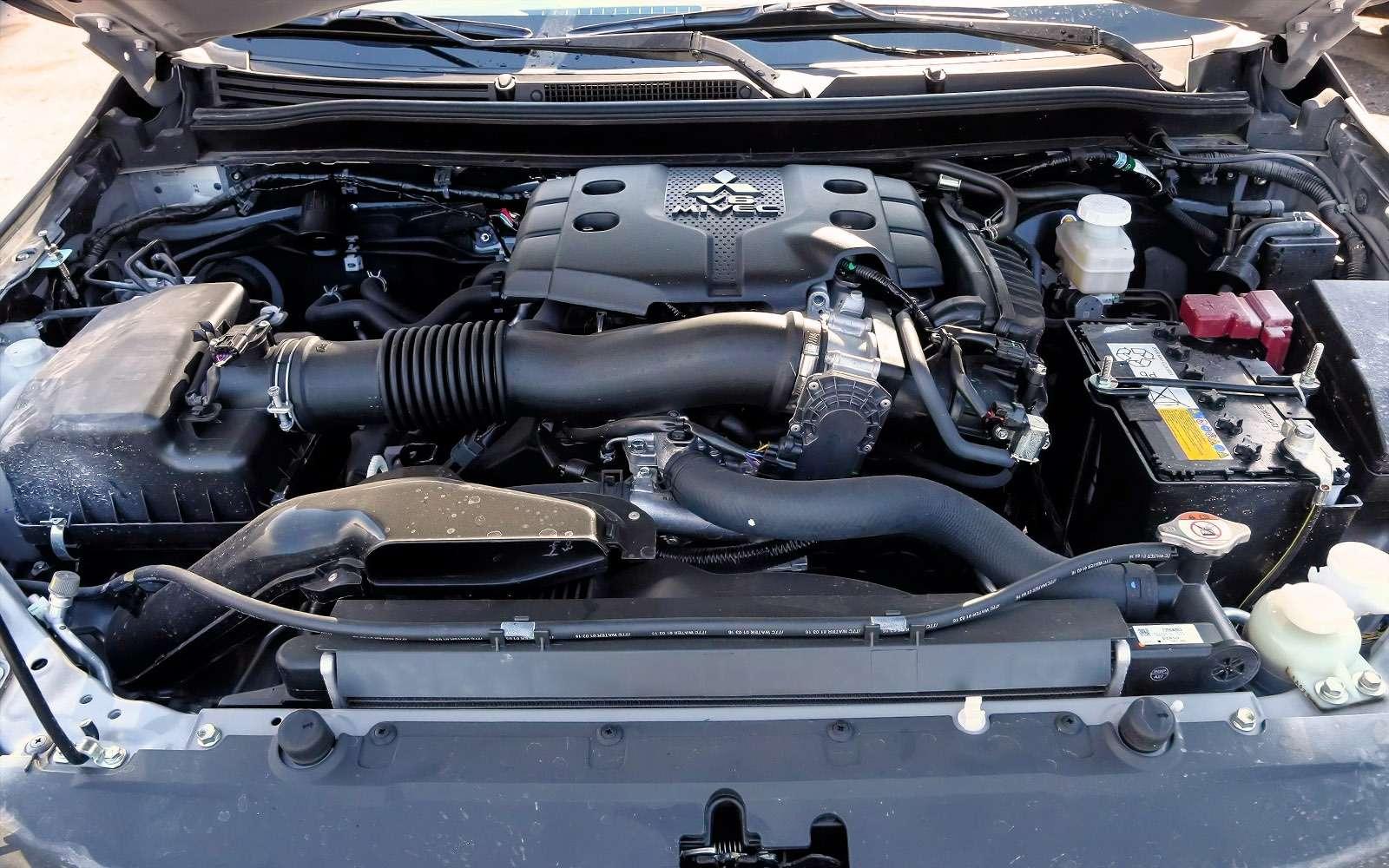 Новый Mitsubishi Pajero Sport: первый тест ипервая грязь!— фото 607591