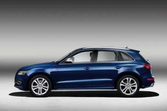 Audi SQ5TDI side view