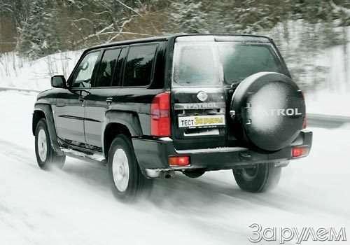 Тест Nissan Patrol, Land Rover Discovery 3, Volkswagen Tuareg. Век нынешний ивек минувший?— фото 55024