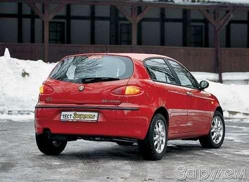 ТЕСТ Alfa Romeo 147, Peugeot 307, Volkswagen Golf. ОДНОКЛАССНИКИ РАЗНЫХ ШКОЛ— фото 27680