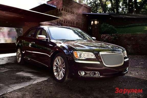 Chrysler 300 Luxury Series side-front view