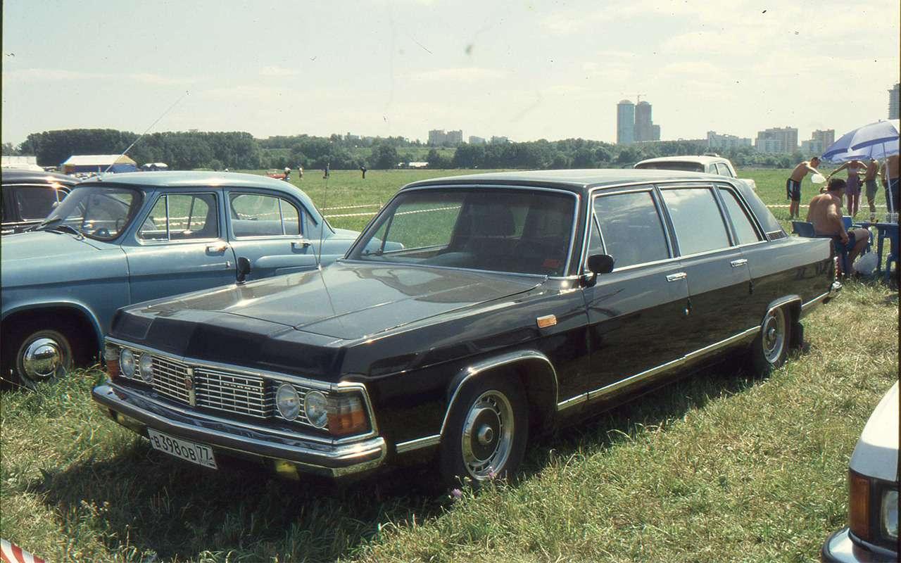 Самые редкие серийные автомобили СССР— фото 868837