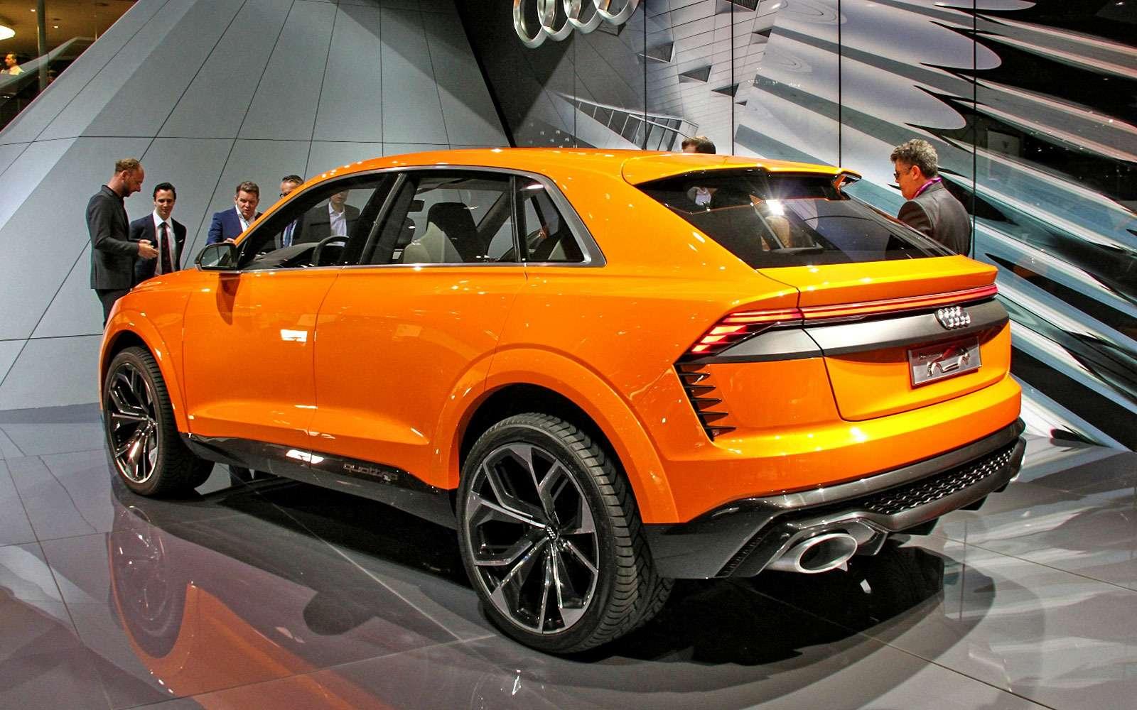 Концепт-тюнинг: Audi Q8приехал вЖеневу сэлектрическим наддувом— фото 717684