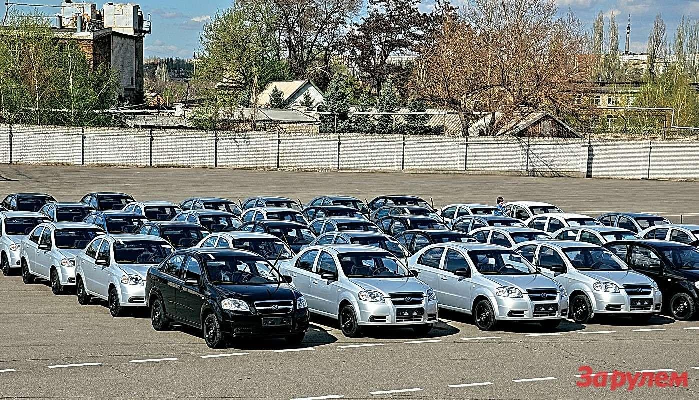 Сегодня впроизводственном портфеле Запорожского автозавода автомобили четырех марок.