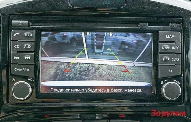 Камера заднего вида есть вкомплектациях SE+, «SE+ Спорт», SV2и LE.