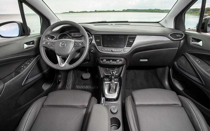 Новый Opel Crossland: 4метра и3цилиндра за2миллиона