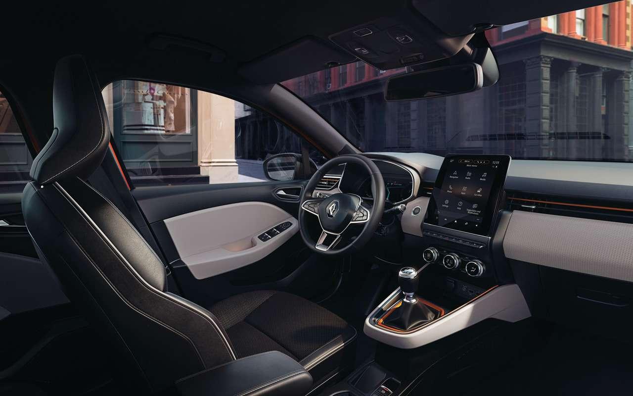 Renault показала салон нового Clio— фото 943980