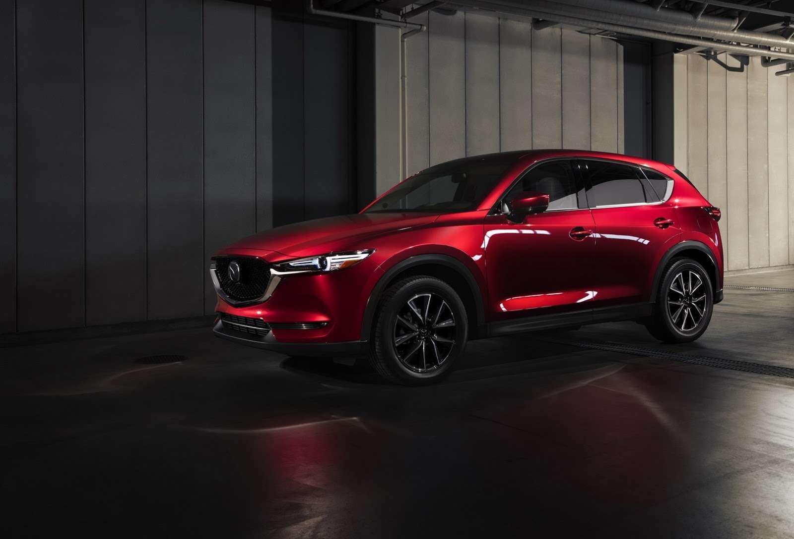 Глубокий блеск: Mazda представила новый кроссовер CX-5— фото 664420