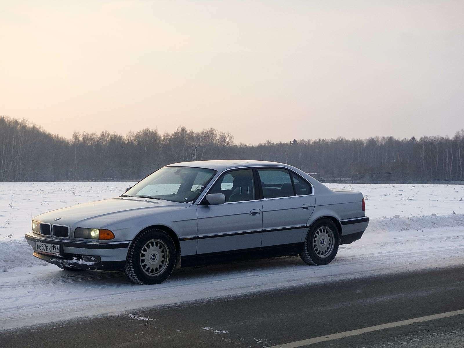 BMW7Series вкузове Е38 1998 г.в.