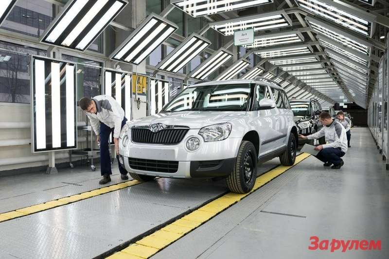 ŠKODA Yeti production started in Nizhniy Novgorod (2)