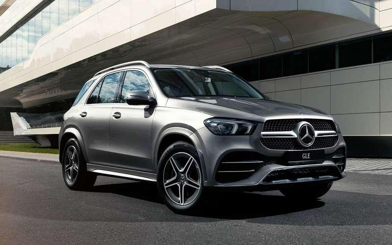 Mercedes-Benz GLE и24альтернативы (идаже от1млн)