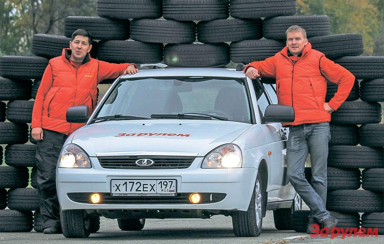 Выбираем летние шины 185/60R14: скользим посуху— фото 263945