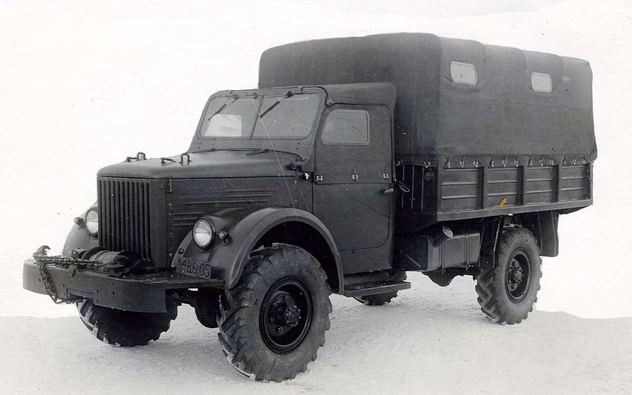Самый популярный грузовик СССР— такого ГАЗ-51вы невидели— фото 961764