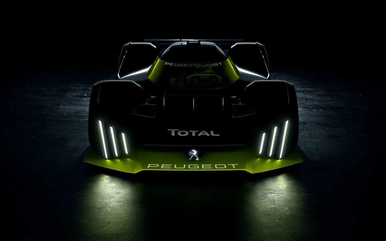 Гиперкар Peugeot получил мощность 952 л.с.