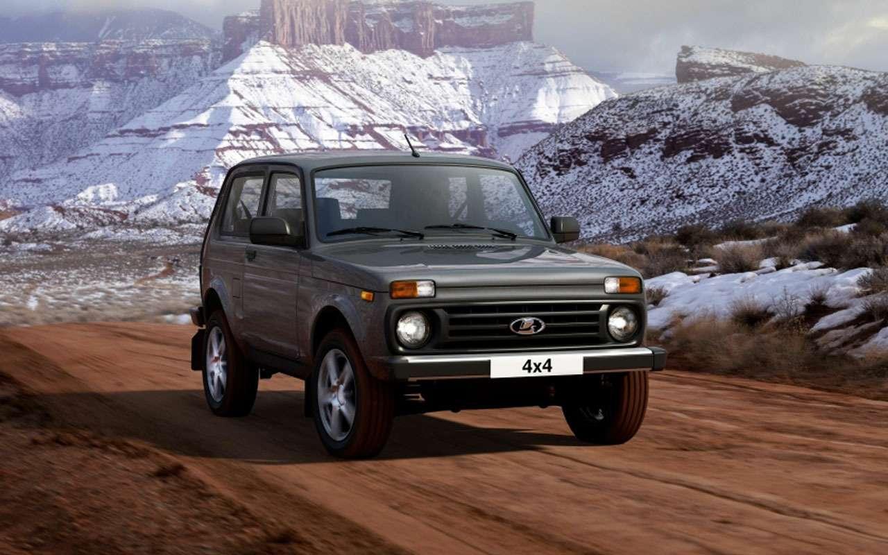 Обновленная Lada 4х4 поступила впродажу— цены известны— фото 1058295
