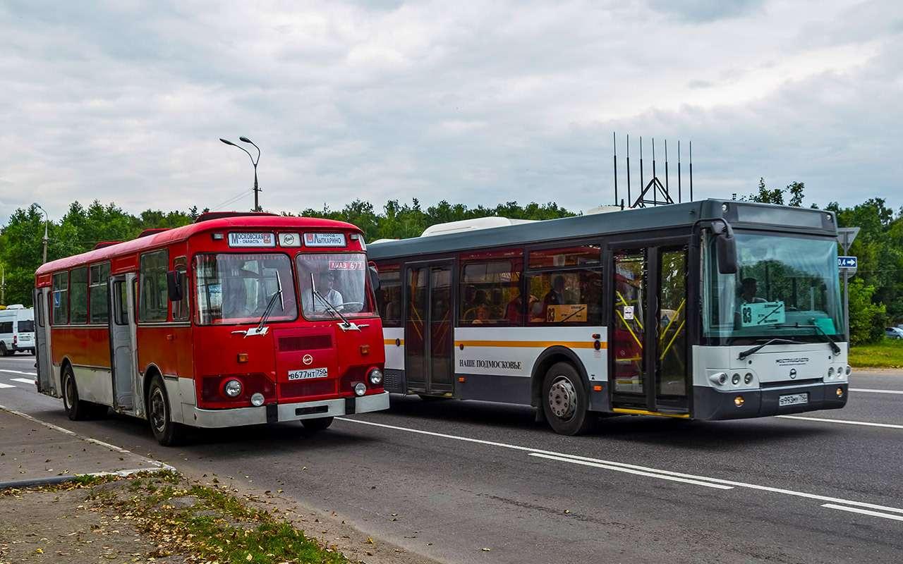Автобус ЛиАЗ-677— ретротест под«звон бутылок»— фото 793196