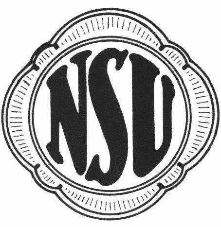 9 nsu logo 1913 no copyright