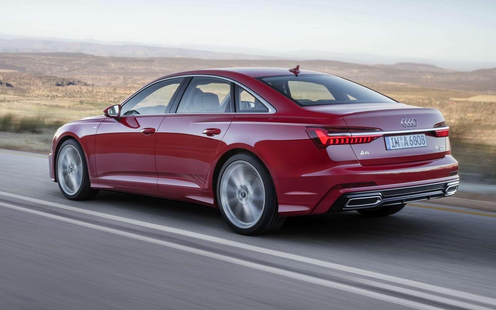 Новый Audi A6: найди десять отличий— фото 849239