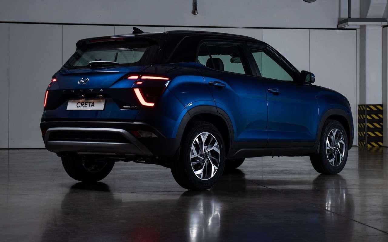 Новая Hyundai Creta уже удилеров— фото 1265131