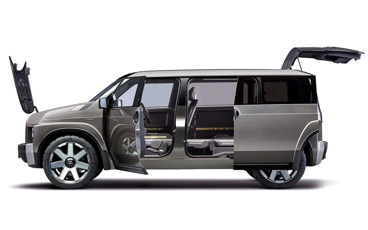 Toyota скрестила внедорожник сминивэном: скоро премьера— фото 994307