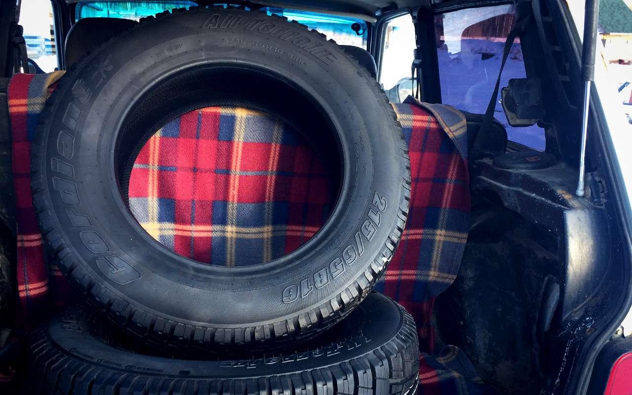 Держат, гребут, вытаскивают…— изучили шины All Terrain— фото 1229157