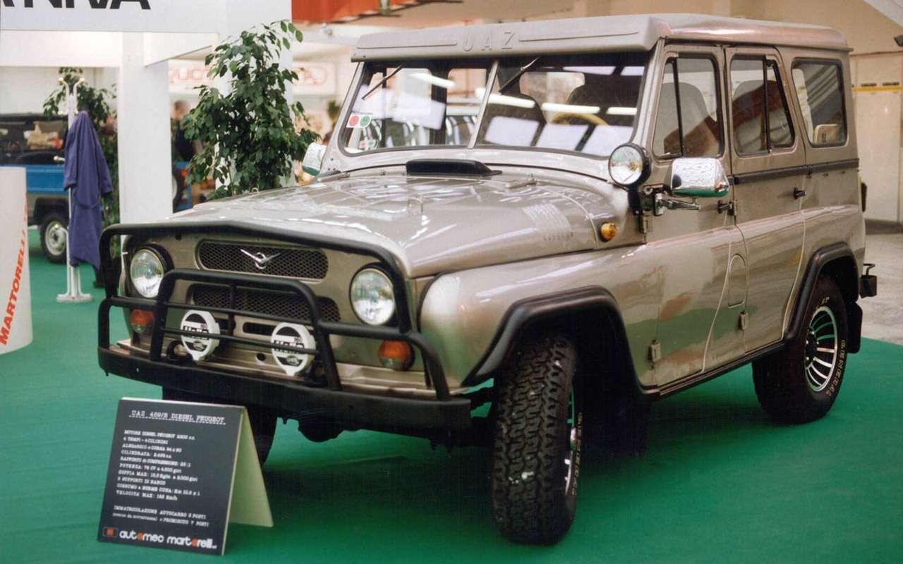 14советских автомобилей сдизелем— почему ихотнас скрывали— фото 954435