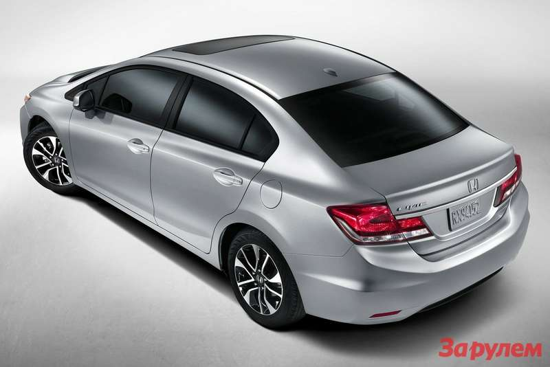 Honda Civic Sedan side-rear view