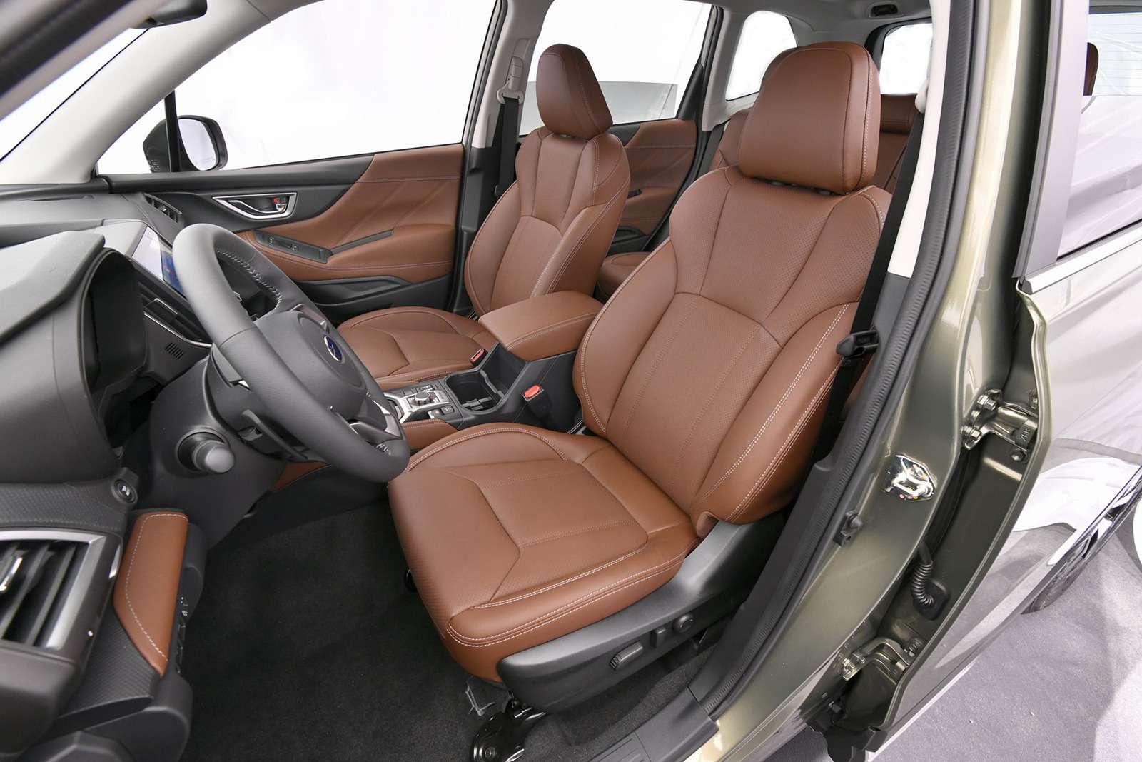 Subaru представила новый Forester. Нет, ондействительно новый!— фото 858013