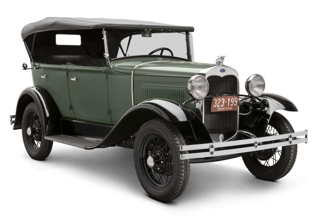 Ford Model A1931 года выпуска— одна изпоследних машин этой модели, сегодня хранящаяся вМузее Генри Форда. Фото: www.thehenryford.org