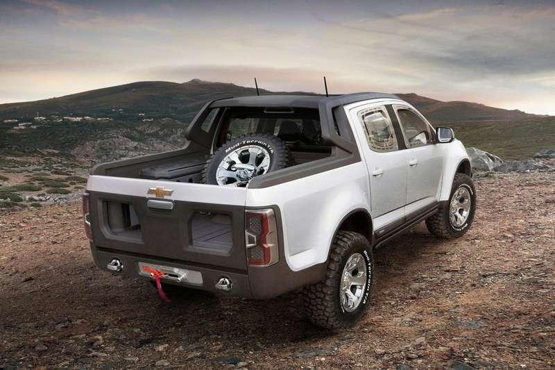 Chevrolet Colorado Rally Concept rear view