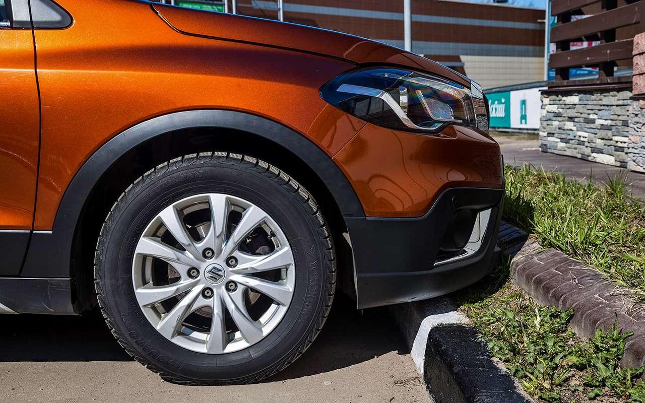 Большой тест кроссоверов: Nissan Qashqai, Mitsubishi ASX иSuzuki SX4— фото 978210