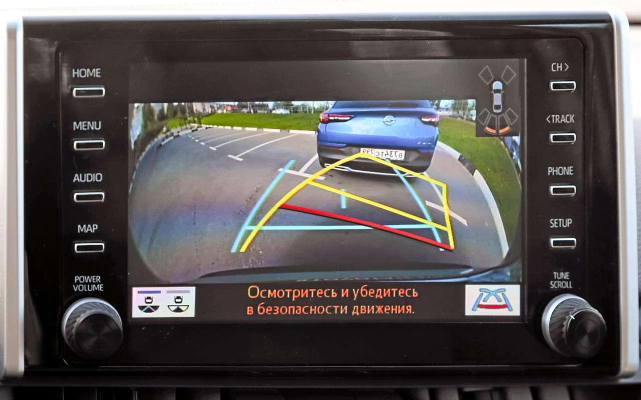 Toyota RAV4и Opel Grandland X— большой тест— фото 1202893