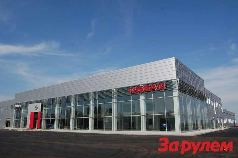 Дилерский центр Nissan вКраснодаре